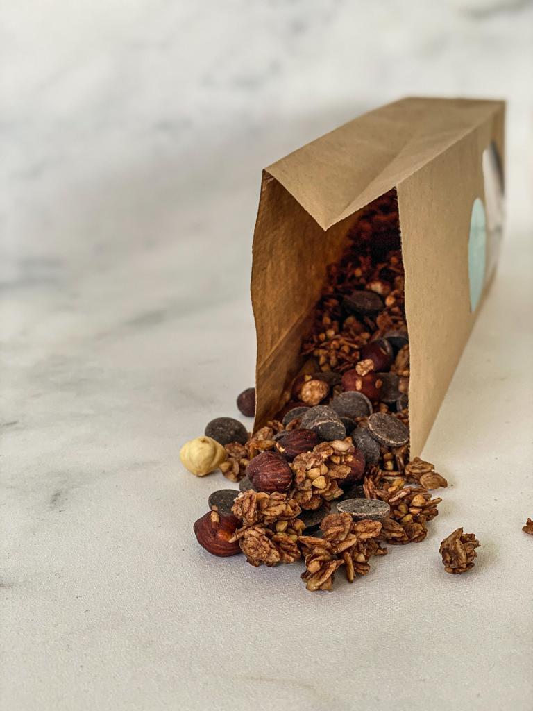Een heerlijke granola voor de chocolade liefhebber voor elk moment van de dag met hele chunks pure chocolade.… View Details