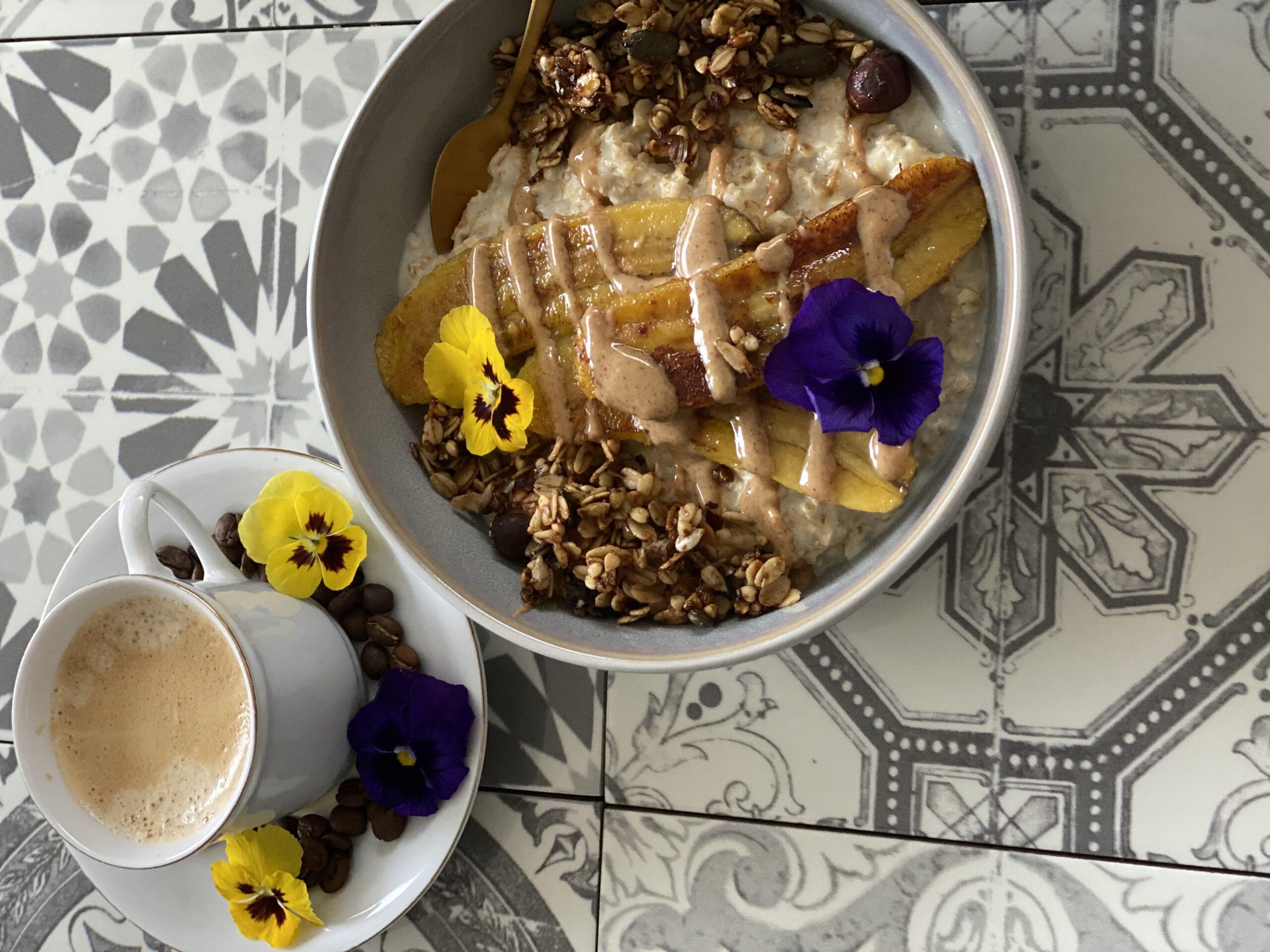 koffie_granola_havermout_banaan