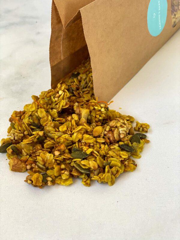 Wortel-Walnoot Granola online kopen bij Leanne's Bakery