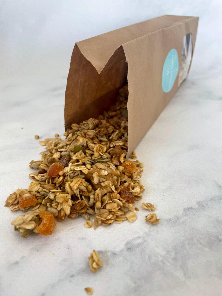 Gember-Abrikoos Granola kopen bij Leanne's Bakery